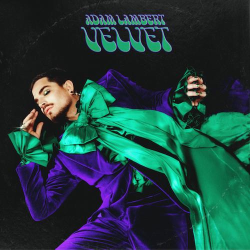 """ADAM LAMBERT """"Velvet"""" (Album)"""